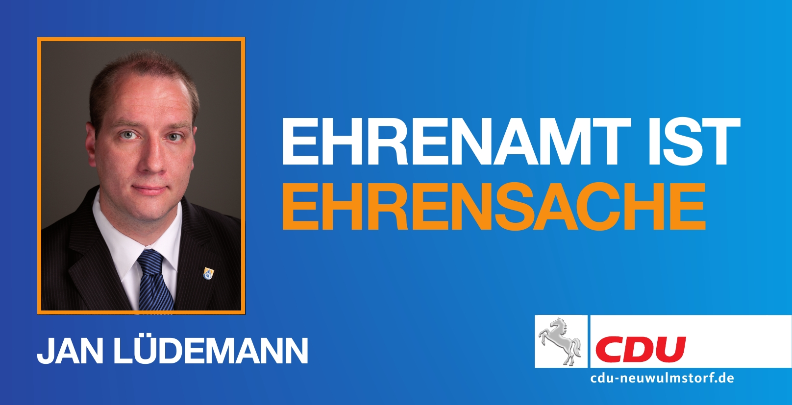 Jan-Thorsten Lüdemann: Ehrenamt ist Ehrensache